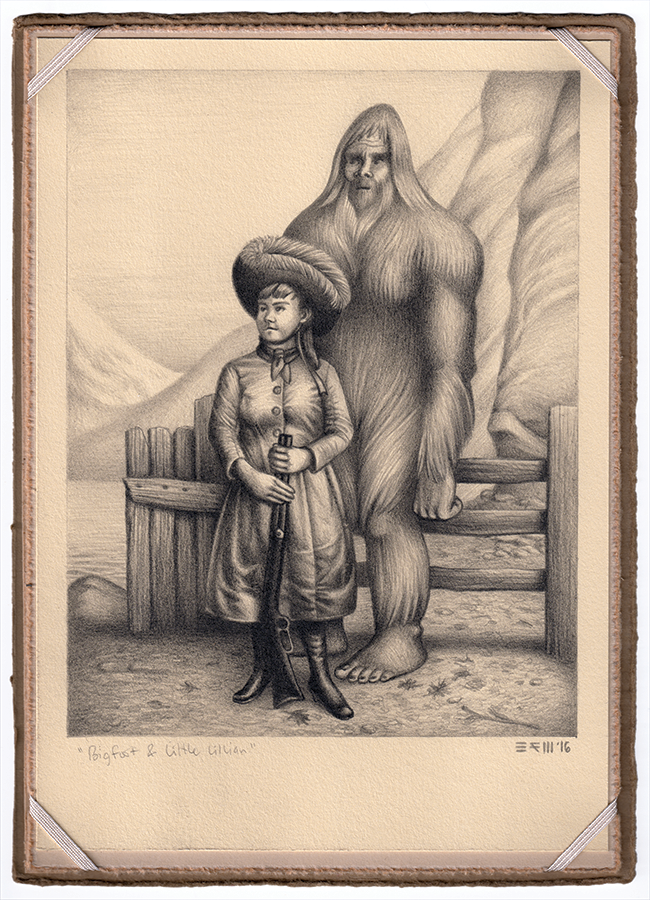 Bigfoot and Little Lillian